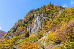 布岩山の柱状節理